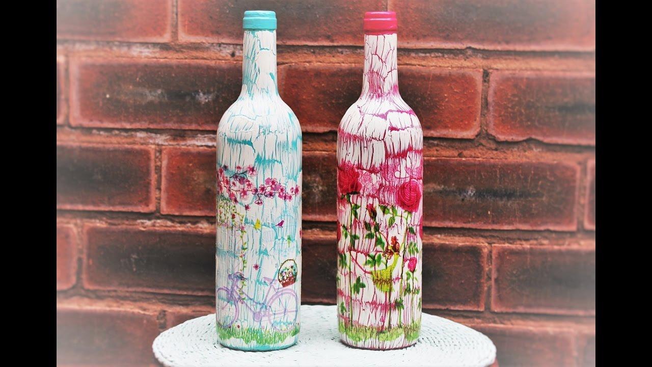 Wine Bottle Art Craft Workshop