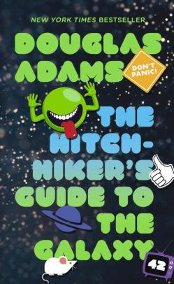 "Book cover of ""The Hitch-Hiker's Guide to the Galaxy"""