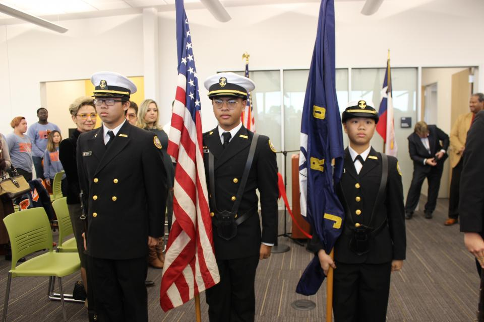 NJROTC Stephen F Austin High School