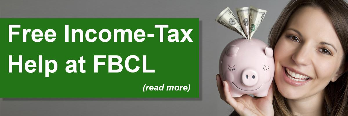 Free Income-Tax Help at FBCL