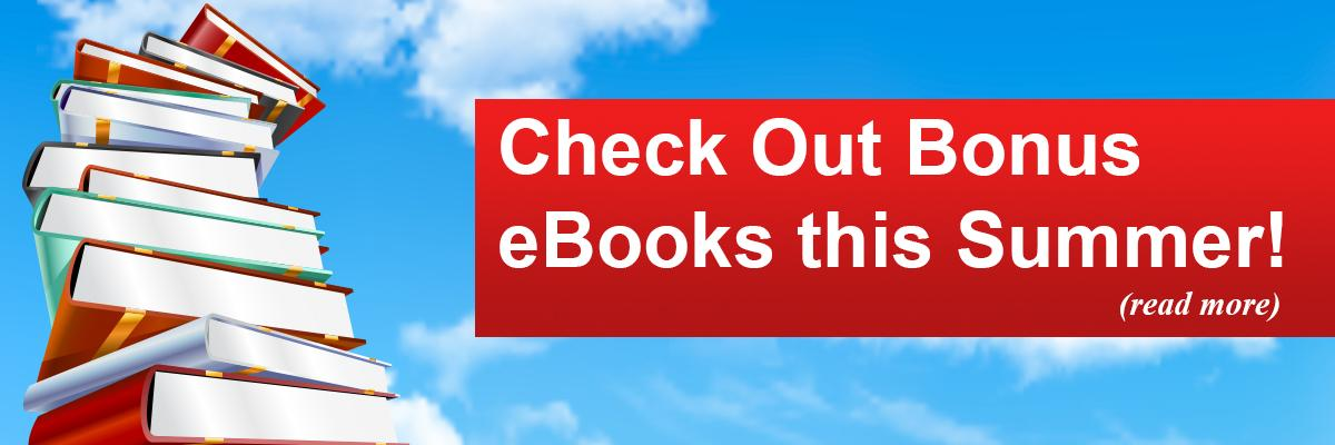 Check Out Bonus eBooks this Summer!