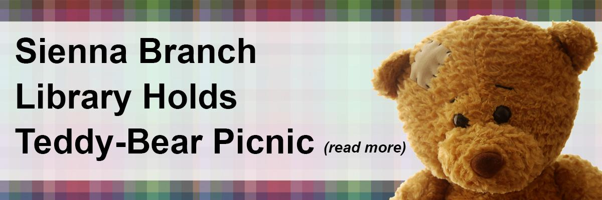 Sienna Branch Library Holds Teddy-Bear Picnic