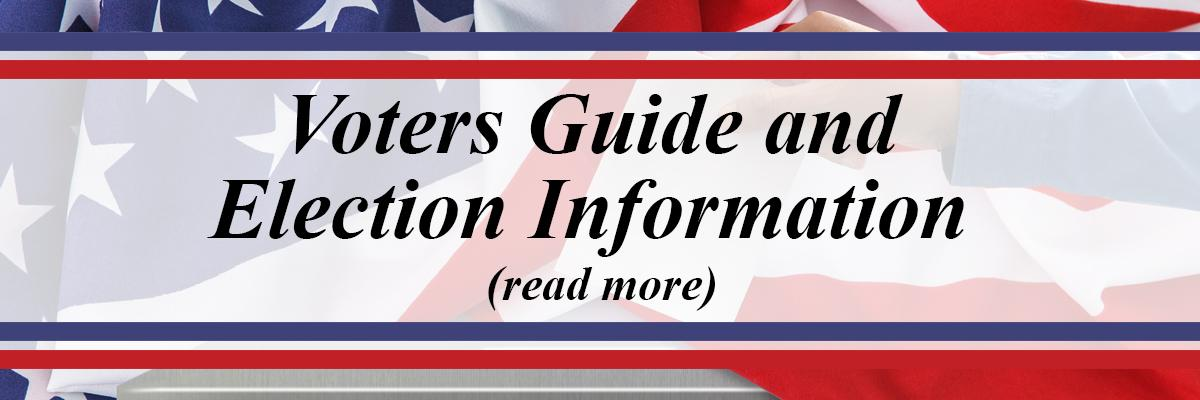 Voters Guides and Election Information