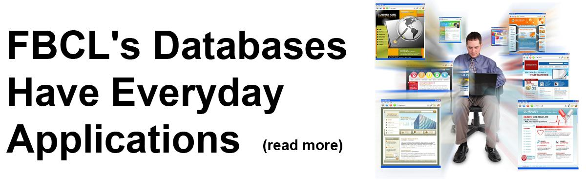 FBCL's Databases Have Everyday Use