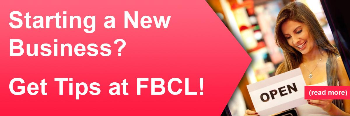 Starting a New Business? Get Tips at FBCL!